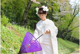 岡山後楽園和装ロケ桜2017_003
